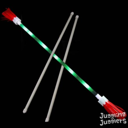 newledflowerstickredgreen